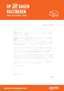 personalised letter